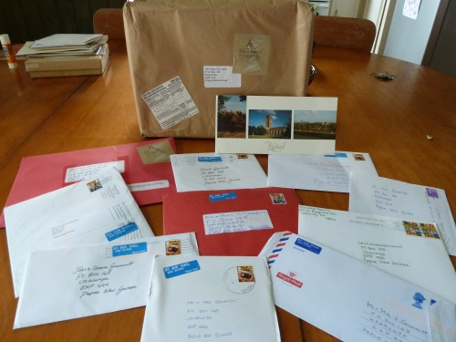 All the post we received on the 11th of January 2011!